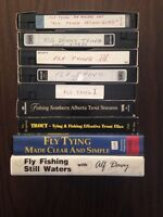 FLY TYING VHS TAPES