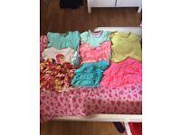 Girls summer clothes 12-18 months