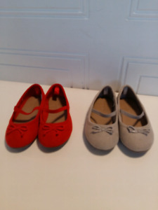 Chaussures ballerines filles taille 7 - neuves