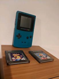 Gameboy Colour plus 2x games