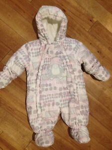 Penguin snowsuit - 3 months