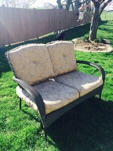Beautiful Wicker Love Seat