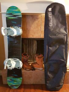 BURTON Snowboard package & Nitro boots + Sunshine Supercard