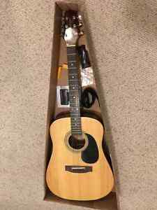 * Brand New * Acoustic guitar with accessories - great gift!
