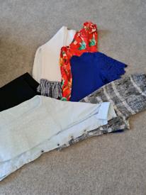 Bundle ladies clothes size 14 and 12.