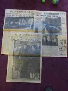 British Royal Family Lot-Vintage Magazines & Newspaper Clippings Kitchener / Waterloo Kitchener Area image 2