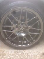 "18"" VMR v710 style staggered wheels BMW"