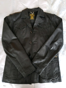 Scotch and soda limited edition (cuir) leather jacket M