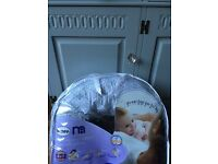Nursing , (breastfeeding and infant support pillow) like new!!!
