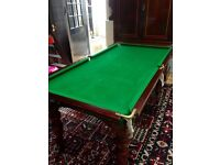 1/4 Size Riley Snooker Table and Dining Table