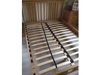Next hampshire King size bed frame.