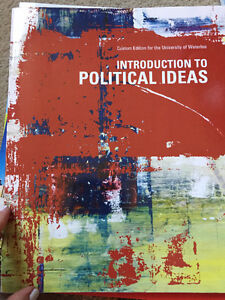 Introduction to Political Ideas textbook Kitchener / Waterloo Kitchener Area image 1