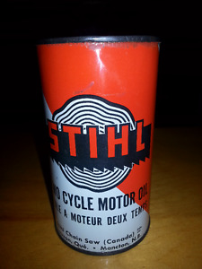 Stihl Chain Saw Motor Oil Can - Made in Moncton