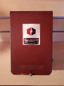 Used Red jacket submersible pump control box