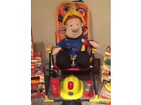Toddler Size Fireman Sam Cuddly Toy