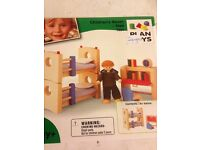 Plan toys dolls house furniture - brand new in box