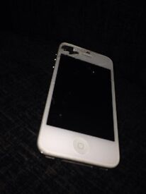 iPhone 4s silver Spares and repairs