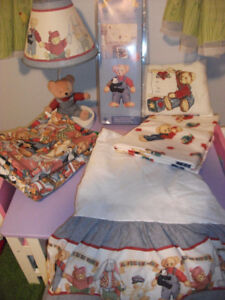 Full Crib Set and  Bedroom Accessories