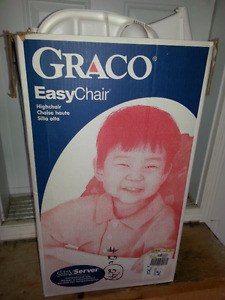 Chaise haute Graco