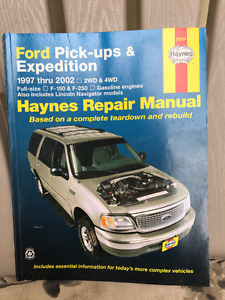 Haynes repair manual Ford Pick-ups 1997-2002