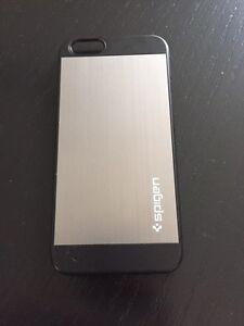 iPhone 6 spigen metal brush slim