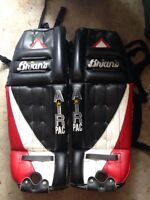 Brian's goalie pads great condition