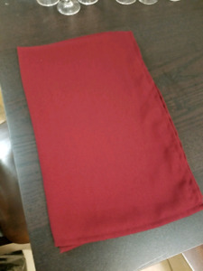 3 x 9.5' Burgundy Table Runners