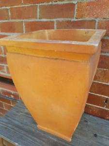 Large vintage terracotta plant pot