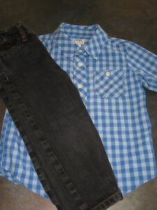 Boy's 3T (old navy) Dress casual shirt/Jeans