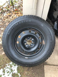 "16"" & 17"" SNOW TIRES AND RIMS-PRICED FOR QUICK SALE"