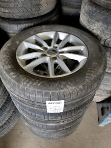 225 65 17 Michelin on Dodge Grand Caravan Journey alloys 5x127