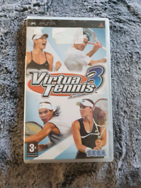 PSP Tennis Game