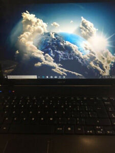 Acer Laptop  for sale 250 gb hd, 6gb ram, HDMI, Win 10