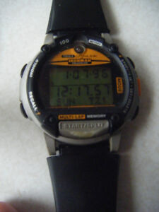 Timex IRONMAN TRIATHLON DATA LINK WATCH    ...