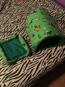 Super Mario Guinea pig bed and tunnel, hand sewn
