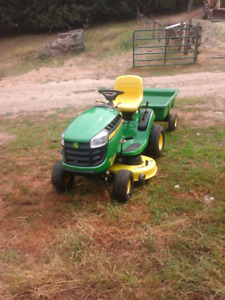"42"" John Deer lawn mower"