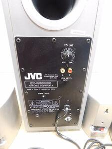JVC Subwoofer and 5 JVC Satellite Speakers London Ontario image 3