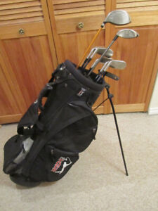 Mens RH Ping & Mizuno Golf Set with New Carry Bag