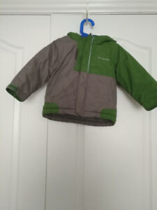 Toddler  Boy Columbia Winter JACKET Size 3