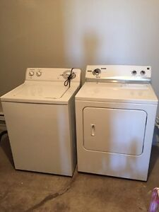 GE washer + Kenmore dryer
