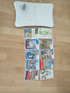 LOT OF 10 USED WII GAMES
