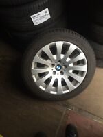 Michelin xice xi3 245/45r18 on BMW 650 rims
