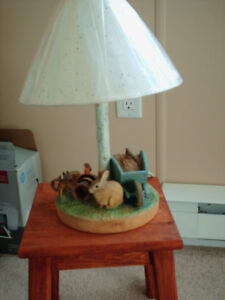 Table Lamp, with Shade
