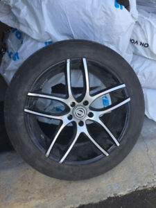 20 inch Mags and P235/55R/R20 Toyo tires for Nissan Pathfinder