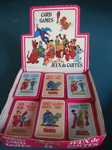 Hanna-Barbera Card Games- Vintage BNIB!