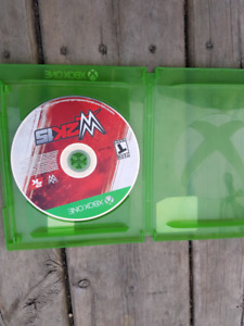 Wwe 2k15 for xbox one disc only in case