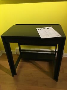 IKEA Laiva dark brown computer desk - used