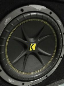 KICKER SUBS , EXILE AMP & CUSTOM FIRE EXTINGUISHER Peterborough Peterborough Area image 4