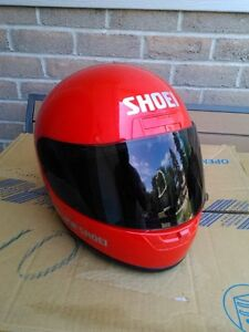 USED SHOIE HELMET SIZE S WITH TINTED SHIELD Windsor Region Ontario image 8
