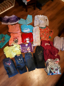 Childs 5/6 clothing and jackets
